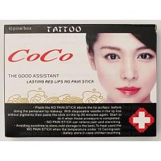 Анестезия для губ маска CoCo обезболивающая для татуажа
