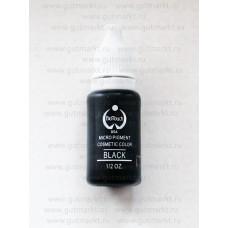 Пигмент краска Biotouch Биотач для татуажа Black Черный