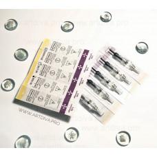 Игольный модуль 5RL растушевка Easy-Click с мембраной для татуажа