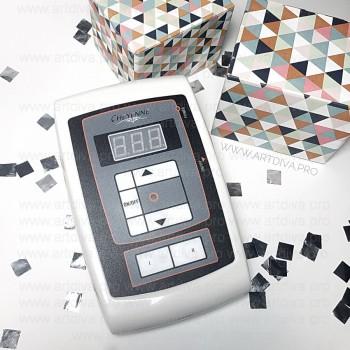 Панель управления Шаен для подключения к машинке для татуажа и тату ручки