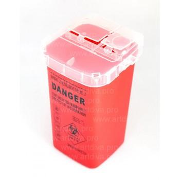 Профессиональное оборудование для салонов красоты, контейнер для утилизации