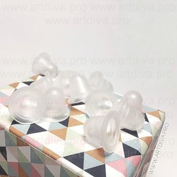 Колпачки для пигментов маленькие материал силикон