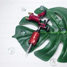 Машинка роторная Dragonfly Red Стрекоза для татуажа и татуировок с держателем