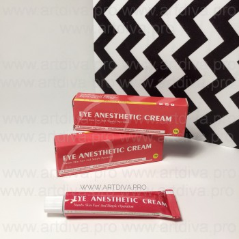 Анестезия для татуажа, анестетик для век Eye Anesthetic Cream