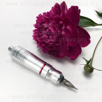 Ручка EZ pen для пикселей татуажа и татуировок в комплекте с переходником