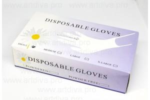 Перчатки для перманентного макияжа и косметологии размер S