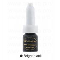 Пигмент татуажный для глаз Golden Rose 10 мл Bright Black Ярко Черный