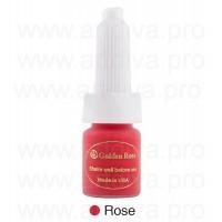 Пигмент для татуажа губ Rose Red Розово-красный Golden Rose 10 мл