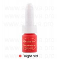 Стойкий пигмент для татуажа губ Golden Rose Bright Red Ярко-красный 10мл