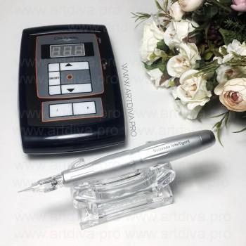 Набор модульный аппарат Intelligent Dial для перманентного татуажа и блок Шаен