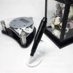 Машинка для татуажа набор Nouveau Intelligent Digital Black