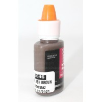 Пигмент Темно пепельно коричневый бровный 9646  Maser для татуажа