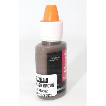 Пигмент для татуажа Maser Темно пепельно коричневый 9646