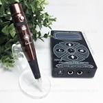 Аппарат игла-дюза Sunshine Korea Chocolate с блоком питания Хурикан для перманентного макияжа