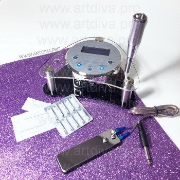 Машинка для перманентного татуажа Yamata Mild Ямата набор система игла-дюза