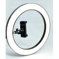 Кольцевая лампа с креплением для стола и креплением для телефона