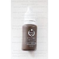 Пигмент краска Biotouch Биотач для татуажа Light Brown Светлый Коричневый