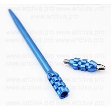 Ручка мануальная манипула для микроблейдинга Гофро синий