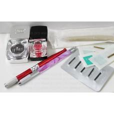 Инструменты и материалы для микроблейдинга