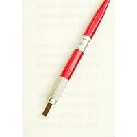 Манипула ручка для микроблейдинга красная