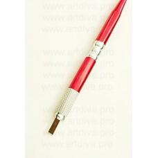 Ручка для ручной техники татуажа, металлическая