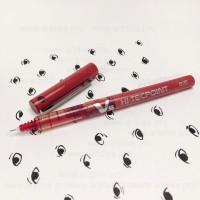 Маркер ручка Пилот для отрисовки эскиза татуажа и микроблейдинга цвет красный