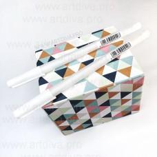 Гелевая ручка белая для отрисовки эскиза татуажа и микроблейдинга