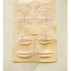 Маска для прорисовки симметричного эскиза татуажа бровей и губ