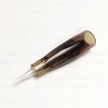 Картридж 1R Liner 0,3 mm модульная игла Biomaser Biotek для татуажа губ, бровей и век