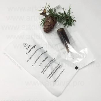 Картридж 3R Liner 0,3 mm модульная игла системы Biomaser Biotek для татуажа губ, бровей и век