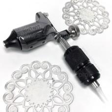 Машинка ротор NeoTat Grey для татуажа и татуировок в комплекте с держателем