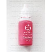 Пигмент краска Biotouch Биотач для татуажа Pink Mauve Розовый Сиреневый