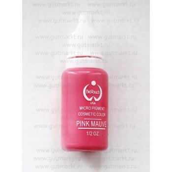 Пигмент для татуажа Pink Mauve Розовый Сиреневый Biotouch Биотач
