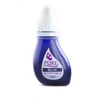 Перманентный пигмент Blue Синий для татуажа век Pure Line Bio Touch