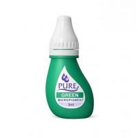 Перманентный пигмент Green для татуажа век Pure Line Bio Touch
