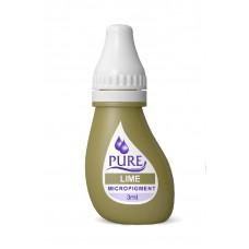 Перманентный пигмент для коррекции Pure Line Lime