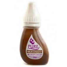 Перманентный пигмент для бровей Pure Line Milk Choco