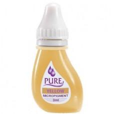Перманентный пигмент желтый Yellow для коррекции Pure Line Bio Touch