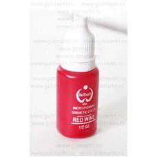 Пигмент краска Biotouch Биотач для татуажа Red Wine Красный Винный