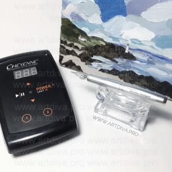Набор модульный аппарат Intelligent Dial для перманентного татуажа и блок Шаен Cheyenne Hawk Unit 2