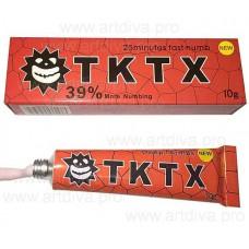 Обезболивающее для татуажа, татуировок мазь TKTX 39 процентов красный 10 гр
