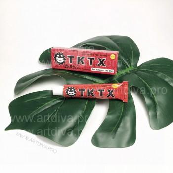 Обезболивающее для татуажа, татуировок мазь TKTX 40 процентов красный 10 гр