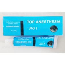 Обезболивающий крем для татуажа, татуировок и микроблейдинга Top Anesthesia 10 гр