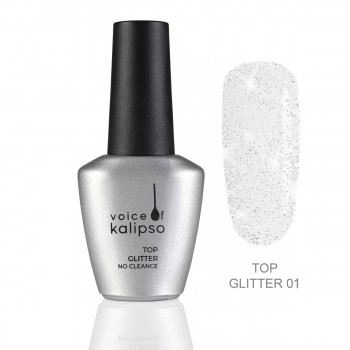 Voice of Kalipso Top Gel Glitter No Cleanse 01