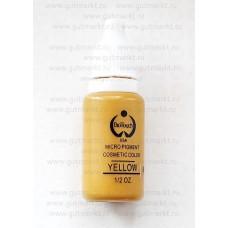 Пигмент краска Biotouch Биотач для татуажа Yellow Желтый корректор